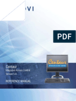 CDVI Centaur Manual