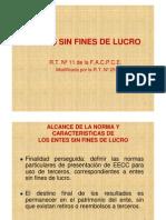 Entes Sin Fines de Lucro 2013