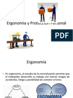 Higiene y Salud Ocupacional - Ergonomía y Protección Personal