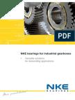 NKE Bearings for Industrial Gearboxes
