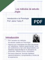 Clase 3 Métodos de Estudio en Psicología