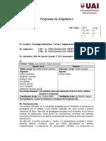 11 Programación Orientada a Objetos (Cardacci 2014)