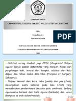 Lapsus CTEV - Ir1