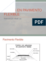 Fallas en Pavimento Flexible