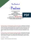 Bible Psalms
