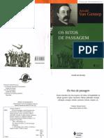 VAN-GENNEP, A. Os Ritos de Passagem.pdf