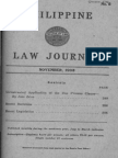 Jose Lava - Unwarranted Application of the Due Process Clause
