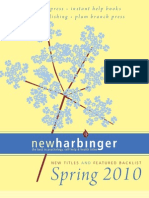 NewHarbinger Catalogue Spring 2010