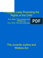 Philippine Laws Promoting the Rights of the Child
