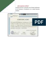 DEONTO - SEMINARIO Certificación - MONO