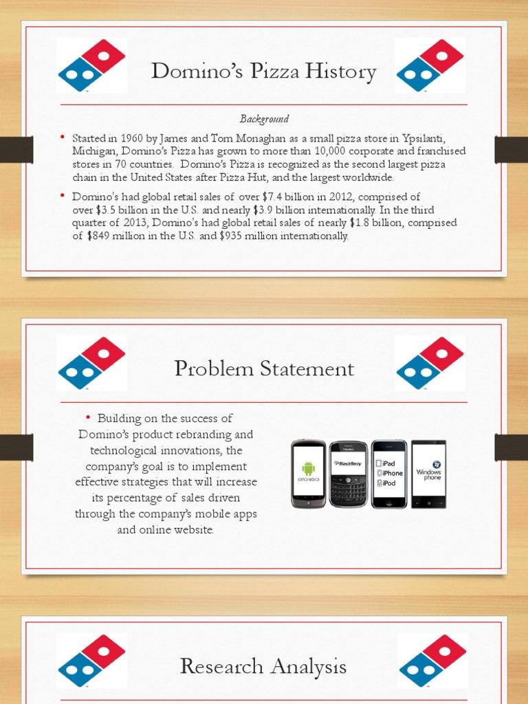 Dominos Media Plan | Domino\'s Pizza | Brand