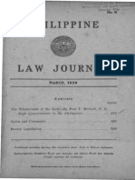 Paul v. Mcnutt- The Triumvirate of Law