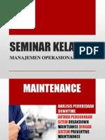 Manajemen Operasional oleh Prof Dr.Hj.Syarifah Hudayah,MM