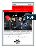 Let Your Motto Be Resistance - Self Defense Manual