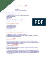 Funciones de La FAO