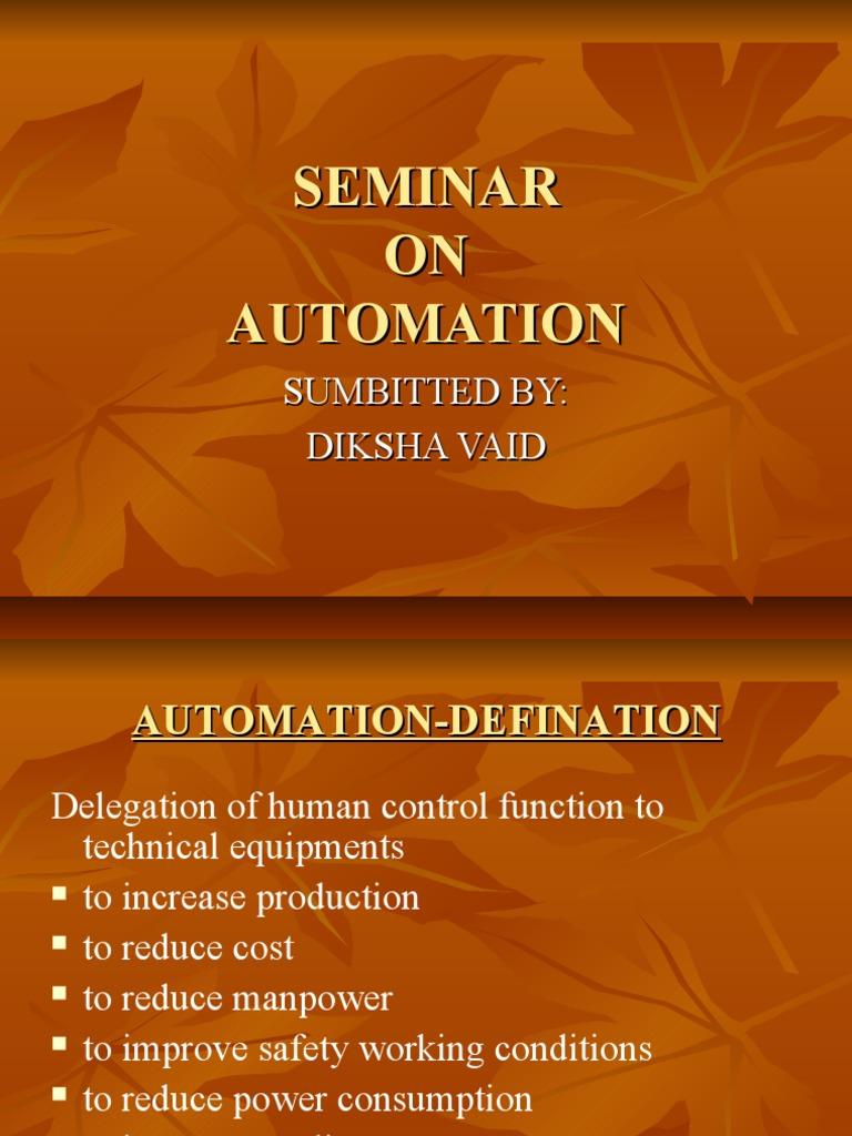 SCADA PPT   Scada   Automation