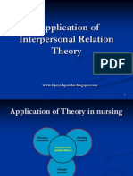 Application of Interpersonal Theory