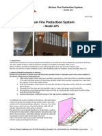 80717-006 Atrium Fire Protection System