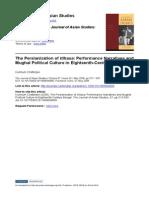Chatterjee 2008 - The Persianization of Itihasa