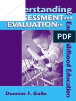 Assessment in Early-Childhood Edu