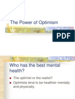 Power of Optimism