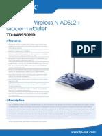 TD-W8950ND V2 Datasheett