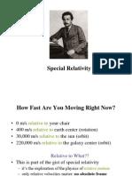 11. Special Relativity