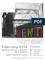 Events Spring 2014 Rent