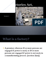 Module 3 Factories Act