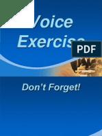 Voice Exercise