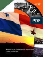 CANAL PANAMA - Prop Extension Panama Canal - ACP