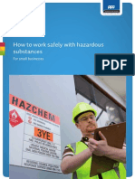 How to Work Safely With Hazardous