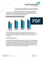 Adspend Forecasts April 2014 Executive Summary FINAL