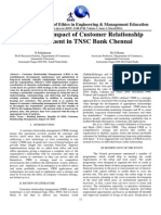 A Study on Impact of Customer Relationship