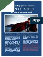 Elaboración de Material didáctico - Man of steel - Guía para los alumnos - Jesús Manuel Gallardo
