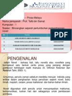 Faktor-Faktor Perkembangan Novel Melayu Tahun 1960-An