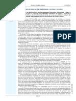Orden convocatoria oposiciones secundaria  Aragón 2014