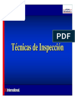 6.- Técnicas de Inspección.