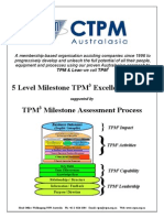5 Level Milestone TPM3 Excellence Award