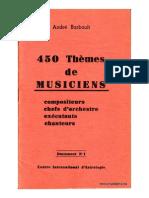 450 Temi Di Musicisti