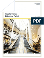 Savills Brisbane Retail Q1 2013