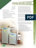 Central Battery System Design