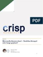 Microsofts Kurswechsel – Nadellas Stempel oder lange geplant?