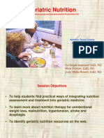 Geriatric Nutrition Presentation
