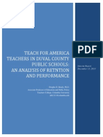 Teach for America Teachers in Duval County Public Schools