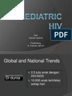 Paediatric HIV
