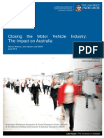 Closing the Motor Vehicle Industry - The Impact in Australia (2)