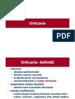 Urticarie