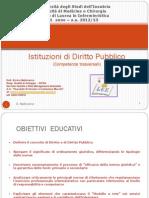 Istituzioni Di Diritto Pubblico 2012-2013