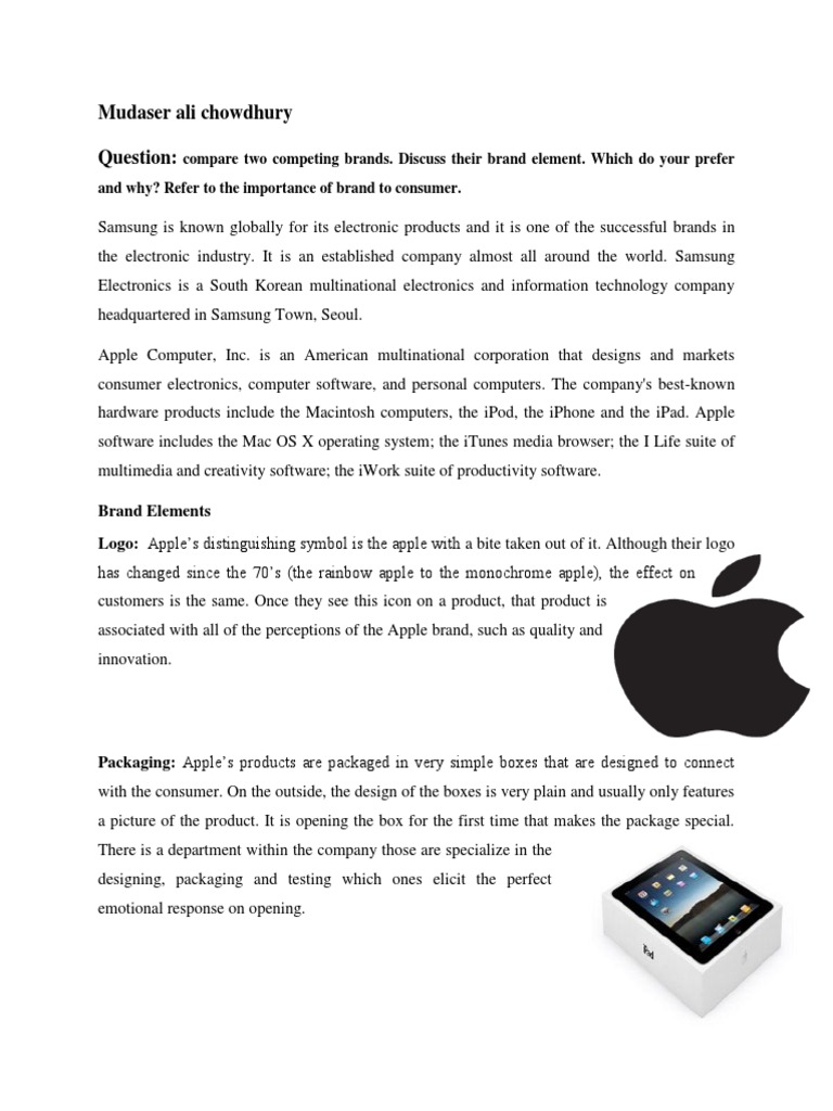 Brand Management Apple Inc Brand